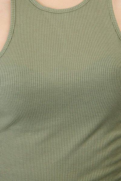Майка женская Roxy Bundoran Oil Green