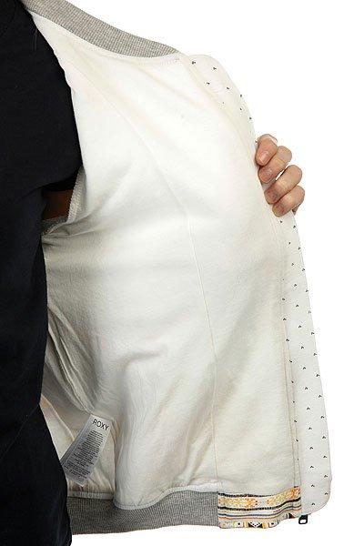 Бомбер женский Roxy Beachban Marshmallow Tex Mex