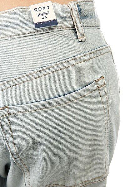 Джинсы прямые женские Roxy Onegoodshot J Pant Bleached Blue