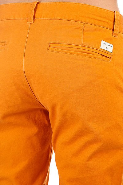 Штаны узкие Quiksilver Krandy Golden Oak