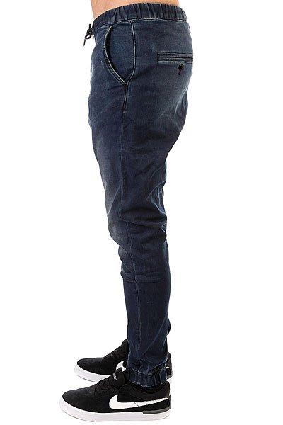 Штаны прямые Quiksilver Fonicdenimblueb Blue Black