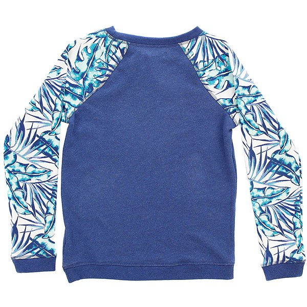 Толстовка свитшот детская Roxy Kaukura Marshmallow Tropical