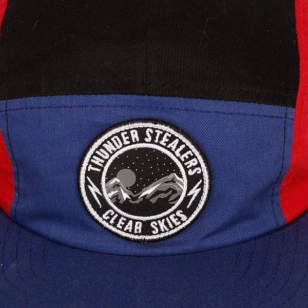 Бейсболка с прямым козырьком The Hundreds Forever Team Snap Blue