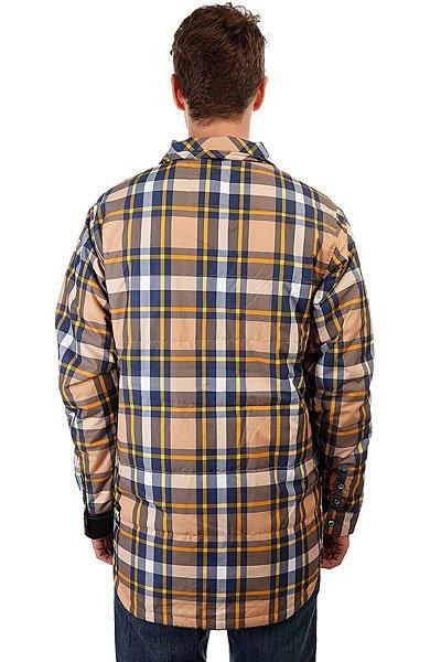 Куртка Picture Organic 5/5 Picture Organic Ridingo Shirt Brown Plaid