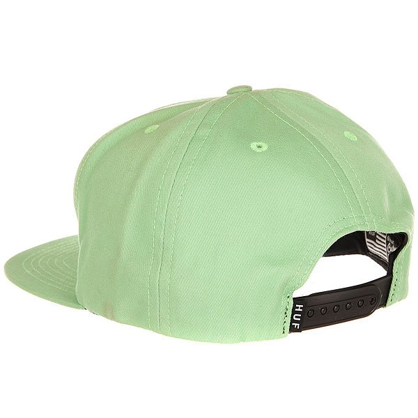 Бейсболка с прямым козырьком Huf Oh Shit Merrow Snapback Light Green