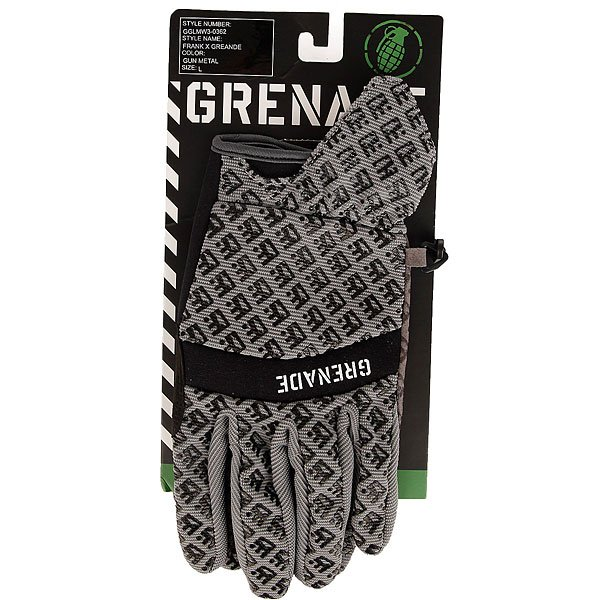 Перчатки сноубордические Grenade Frank 151 Gray/Gunmetal