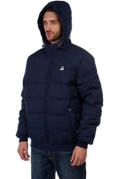 Куртка зимняя Le Coq Sportif Carpolia Jacket Dress Blues