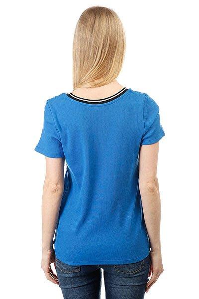 Футболка женская Le Coq Sportif Silea Middle Blue