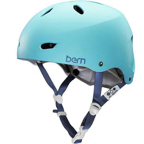 Шлем для сноуборда женский Bern Hardhat Skate Brighton Hh Matte Bluebird