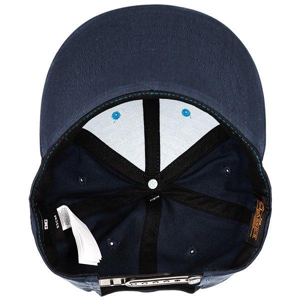 Бейсболка с прямым козырьком DC Snappy Blue Moon