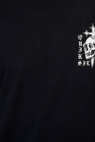 Футболка Quiksilver Skull Cross Black