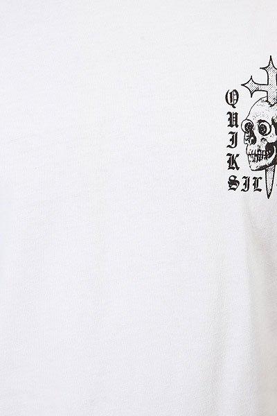 Футболка Quiksilver Skull Cross White