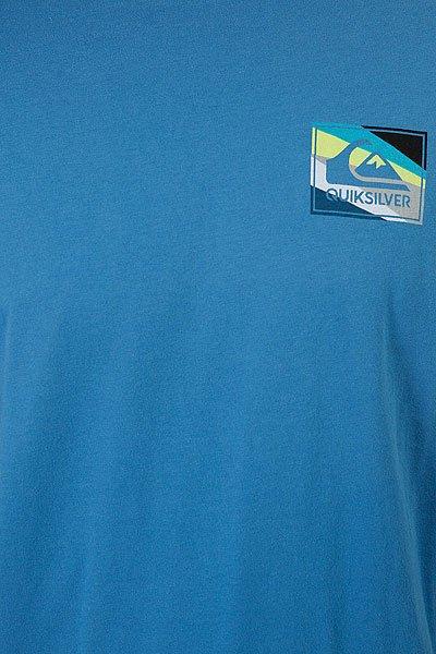 Футболка Quiksilver Boxknife Vallarta Blue
