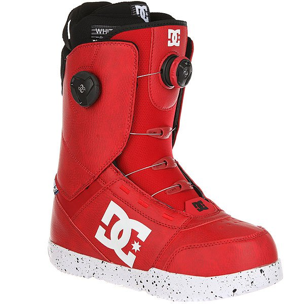 Ботинки для сноуборда DC Control Rare Racing Red
