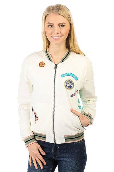 Бомбер женский Roxy Sgbomberjacket Marshmellow