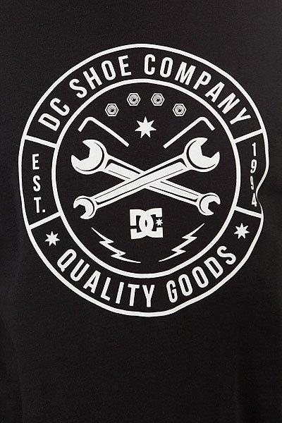 Толстовка классическая DC Equipment Crew Black