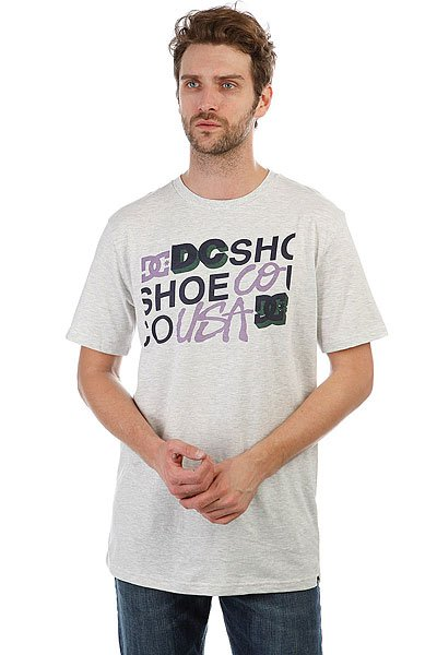 Футболка DC Combine Actioss Light Grey Heather