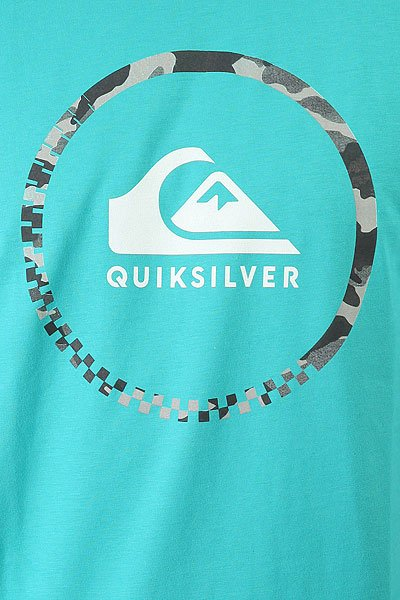Футболка Quiksilver Activelogo3.0 Viridine Green