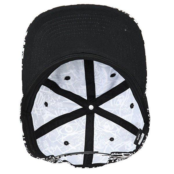 Бейсболка с прямым козырьком Quiksilver Nighty Black