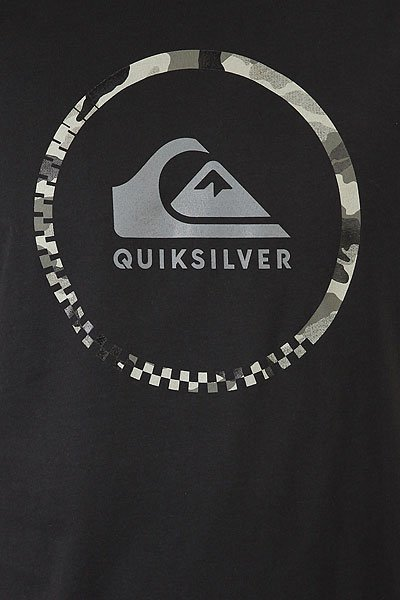 Футболка Quiksilver Activelogo3.0 Black