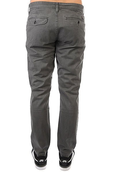 Штаны прямые Quiksilver Everyday Chino Dark Shadow