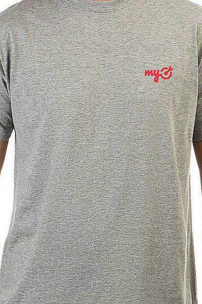 Футболка классическая MyTarget Logo Серая