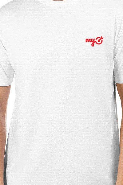 Футболка классическая MyTarget Logo Белая