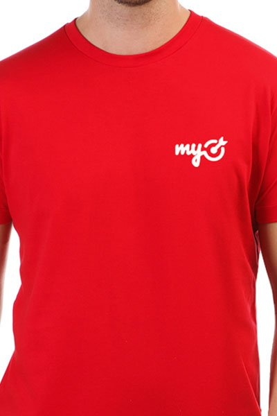 Футболка классическая MyTarget Logo Красная