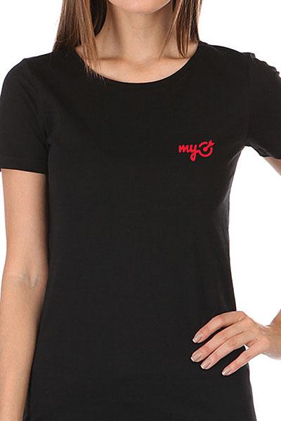 Футболка женская Wearcraft Premium MyTarget Logo Черная