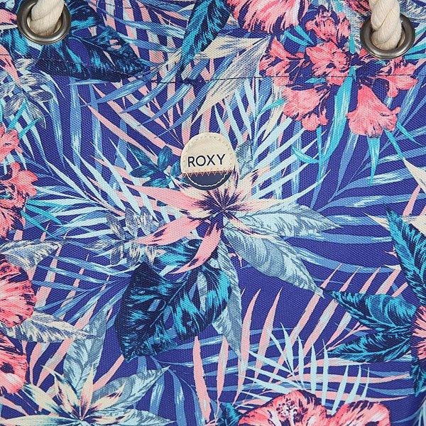 Сумка женская Roxy Printedtropical Royal Blue Beyond Lo