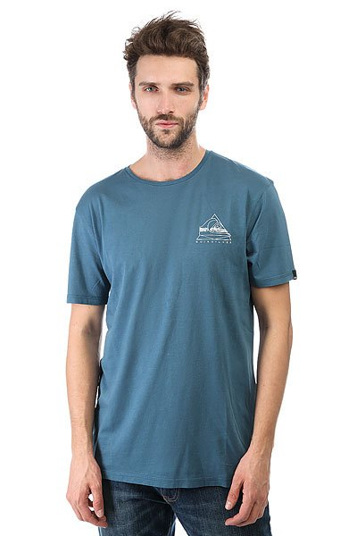 Футболка Quiksilver Solstice Indian Teal