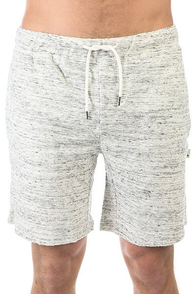 Шорты классические Quiksilver Zamorazushort Light Grey Heather