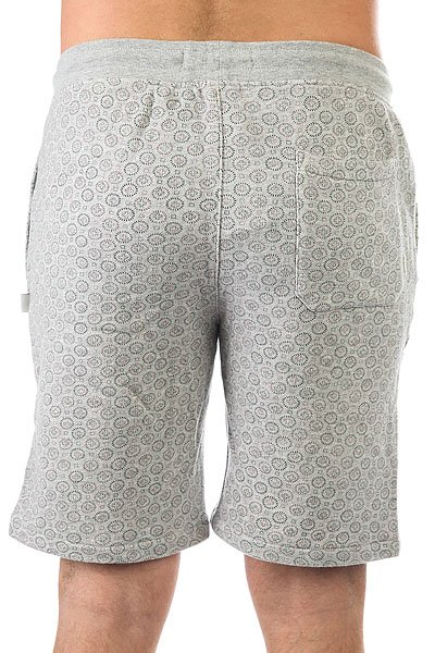 Шорты классические Quiksilver Cyclopsshort Light Grey Heather