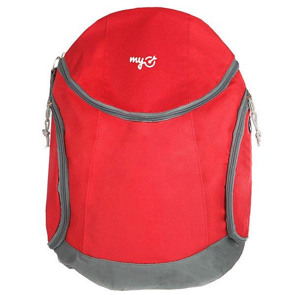 Рюкзак Городской MyTarget Jogging Logo Красный/Серый
