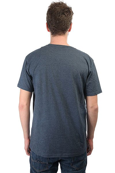 Футболка Quiksilver Doublelines Dark Denim Heather
