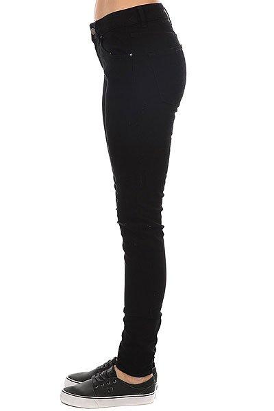 Джинсы узкие женские Roxy Rebelcome Black