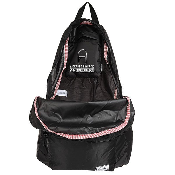 Рюкзак городской Herschel Packable Daypack Black2