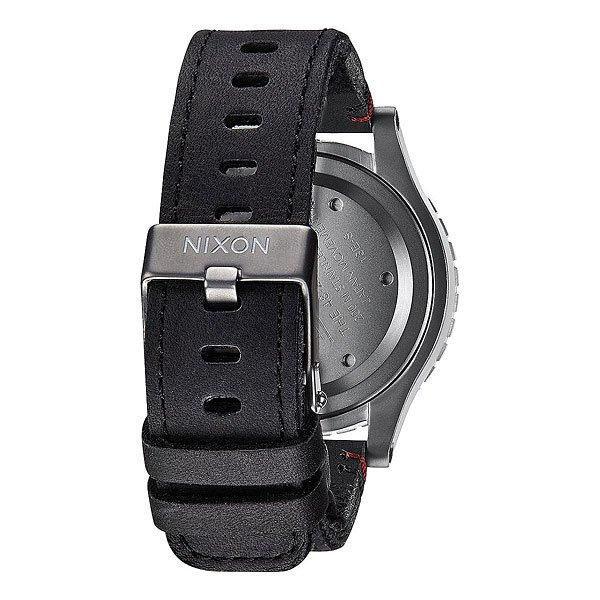 Кварцевые часы Nixon 48-20 Chrono Black/Surplus