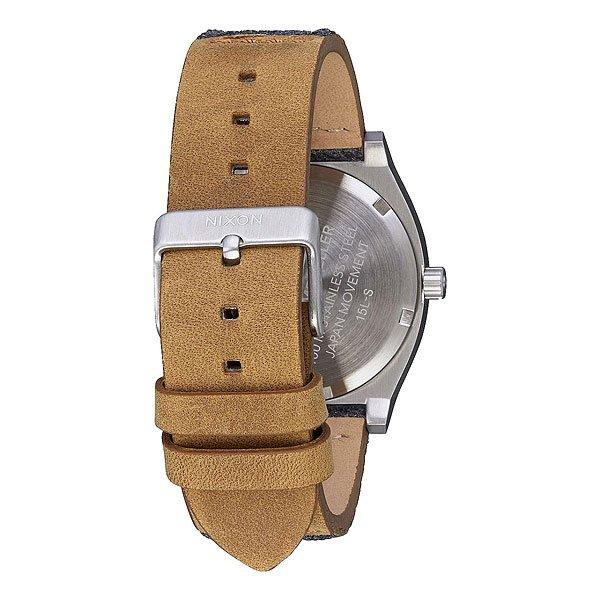 Кварцевые часы Nixon Time Teller Gray/Tan