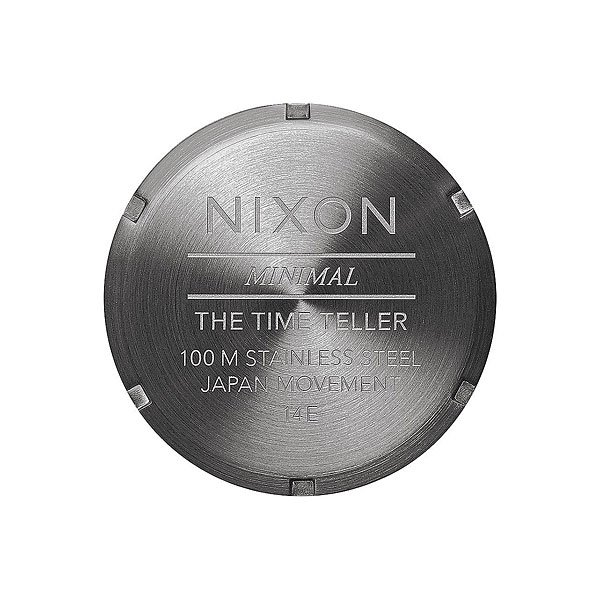 Кварцевые часы Nixon Time Teller Gunmetal/Silver/Surplus
