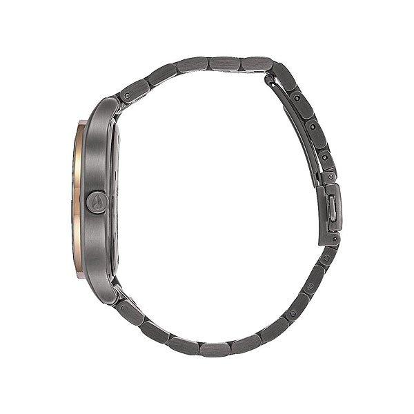 Кварцевые часы женские Nixon Sala Gunmetal/Rose Gold