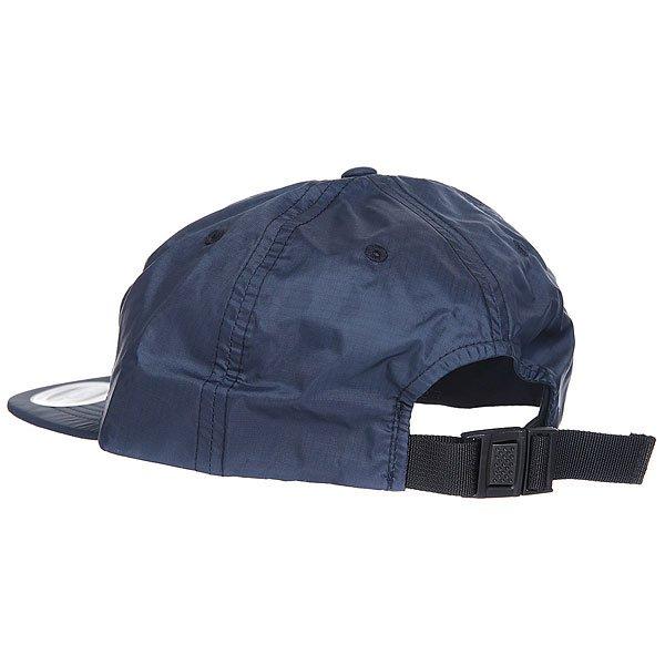 Бейсболка с прямым козырьком DC Skate Tech Hat Black Iris