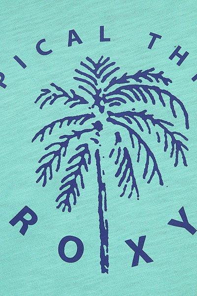 Футболка женская Roxy Bobbytropical Pool Blue