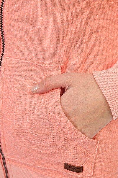 Толстовка классическая женская Roxy Signature Lady Pink