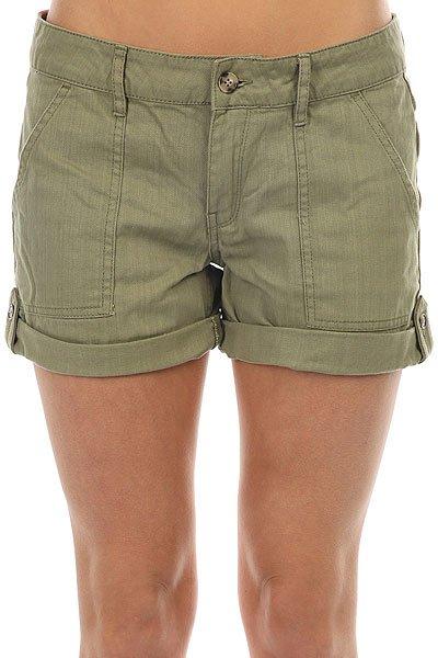 Шорты джинсовые женские Roxy Memory Holidays Oil Green