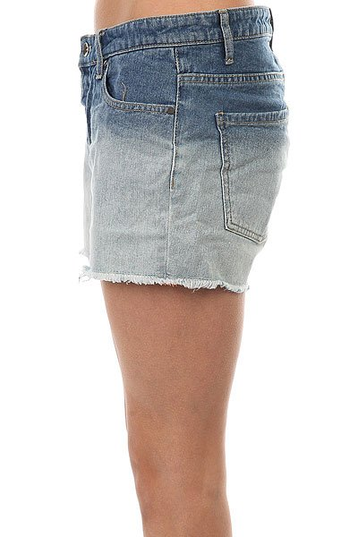 Шорты джинсовые женские Roxy Lovelydeep Dye J Dnst Medium Blue