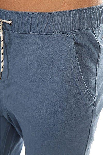 Штаны прямые женские Roxy Easybeachy Captains Blue