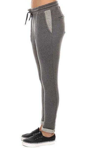 Штаны спортивные женские Roxy Signaturepant Charcoal Heather
