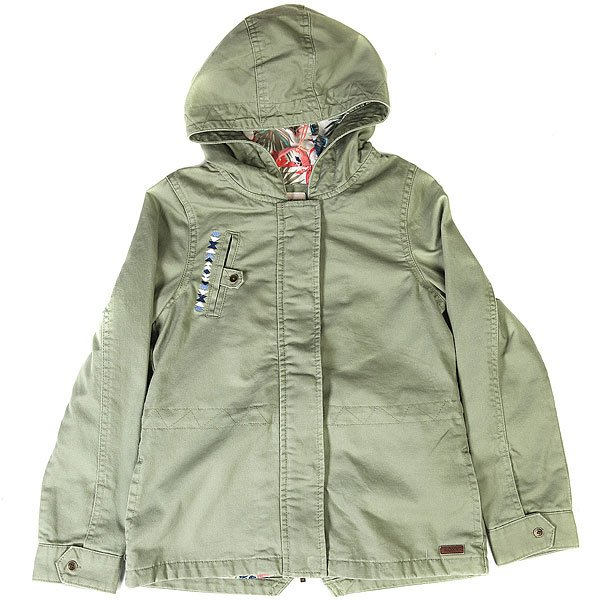Куртка детская Roxy Heartwords Oil Green