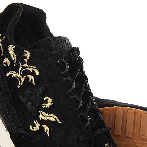 Кроссовки женские Le Coq Sportif Eclat Embroidery Black/Gold